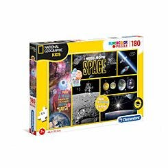 Clementoni National Geographic I Need More Space 180 Piece Puzzle