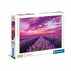 Clementoni Lavender Field 1000 Piece Puzzle