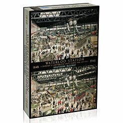 Gibsons Waterloo Station 1000 Piece Puzzle