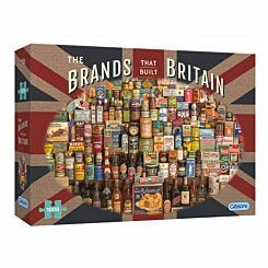 Gibsons The Brands That Built Britain 1000 Piece Puzzle