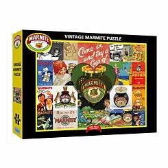 Gibsons Vintage Marmite 1000 Piece Puzzle