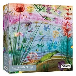 Gibsons See Through Nature 1000 Piece Puzzle