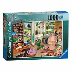 Ravensburger The Garden Shed Jigsaw Puzzle 1000 piece