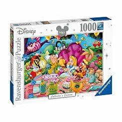 Disney Collectors Edition Alice in Wonderland 1000 Piece Jigsaw Puzzle