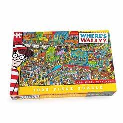 Wheres Wally The Wild, Wild West Jigsaw Puzzle 1000 Piece