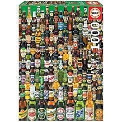 Educa Borras Beers 1000 Piece Jigsaw Puzzle