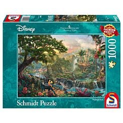 Thomas Kinkade Disney Jigsaw Puzzle The Jungle Book 1000 Pieces