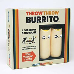 Throw Throw Burrito Dodgeball Card Game