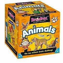 Brainbox Animals Card Game
