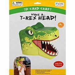 T-Rex 3D Mask Card Craft
