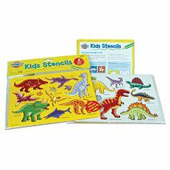 Creation Station Dinosaur Stencils Pack