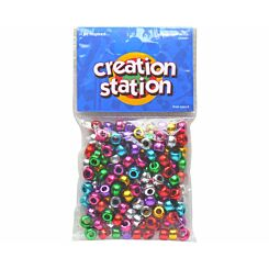 Creation Station Pony Beads Assorted Pack