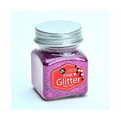 Jakar Glitter Shaker 40g Pink
