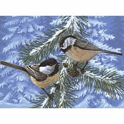Royal Brush Adult Paint by Numbers Kit Pine Birds Large