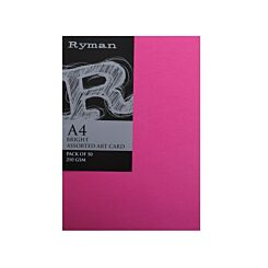 Ryman ArtCard A4 210gsm Pack of 200 Bright