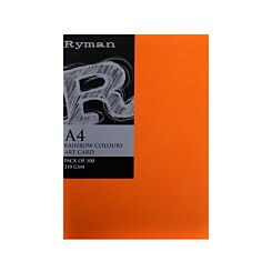 Ryman Art Card A4 210gsm Pack 100