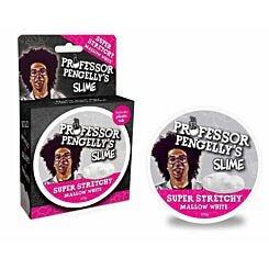 Professor Pengellys Super Stretchy Mallow White Slime