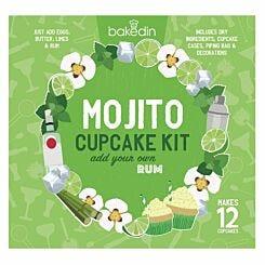 Bakedin Mojito Cupcake Baking Kit