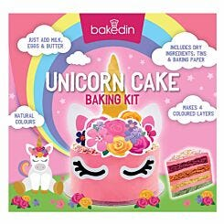Bakedin Unicorn Cake 	Baking Kit