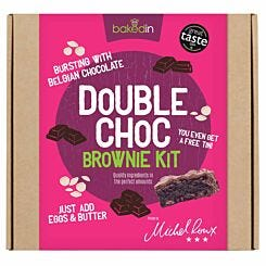 Bakedin Double Chocolate Brownie Baking Kit