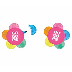 GOGOPO Flower Highlighter Pen