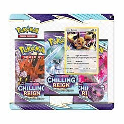 Pokemon TCG Booster Display Chilling Reign Pack of 3