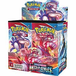Pokemon Trading Card Game Sword and Shield Battle Styles Booster Cards