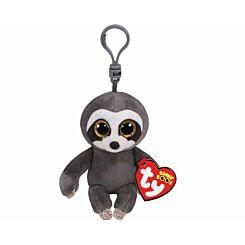 ty Dangler Sloth Beanie Boo Clip Keyring