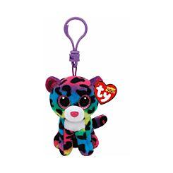 ty Dotty Leopard Beanie Boo Clip Keyring