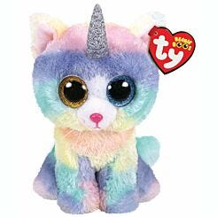 ty Heather Kitten Beanie Boo