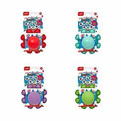 Reversible Silicon Octopus Fidget Pop Toy Assorted