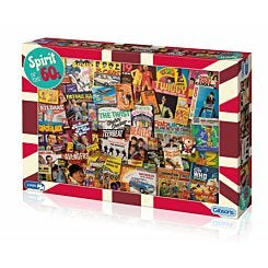 Gibsons Jigsaw Puzzle Spirit of the 60s 1000 Pieces