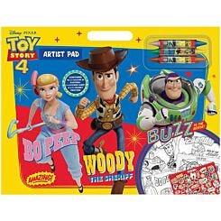 Disney Pixar Toy Story 4 Artist Pad
