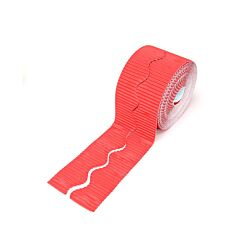 Border Roll 15m Long Corrugated Roll Red