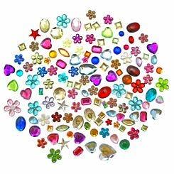 Creativity International Acrylic Jewels 450g