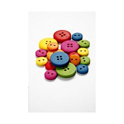 Wooden Buttons 12-20mm Pack of 360