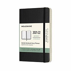 Moleskine Academic Softcover Diary Week to View Pocket 2021