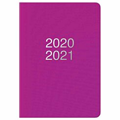 Letts Dazzle Diary Page a Day A6 Purple