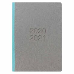 Letts Two Tone Mid-Year Diary Week to View A5 2020-2021