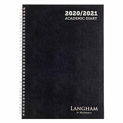 Langham Wiro Diary Week to View A4 2020-2021