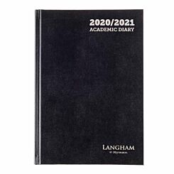 Langham Diary 2 Days per Page A5 2020-2021