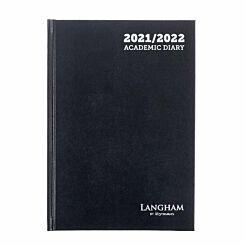 Ryman Langham Academic Diary Week to View A5 2021