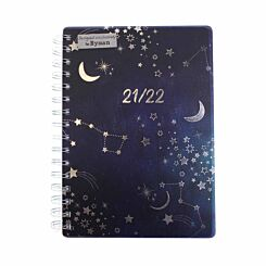 Ryman Constellation Mid-Year Diary Day to View A5 2021-2022