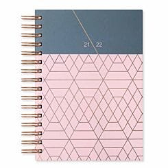 Matilda Myres Academic Diary Day a Page A5 2021-2022 Pink