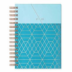 Matilda Myres Academic Diary Day a Page A5 2021-2022 Teal
