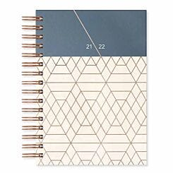 Matilda Myres Academic Diary Day a Page A5 2021-2022 Ivory