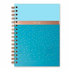 Matilda Myres Mid-Year Wiro Diary Week to View A5 2021-2022 Blue
