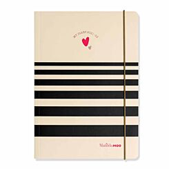 Matilda MOO Mid-Year Diary Week to View with Notes A5 2021-2022 Ivory