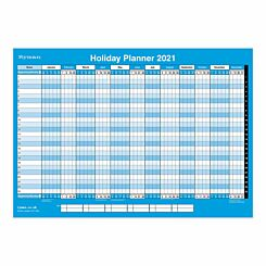 Ryman Compact Holiday Wall Planner 2021