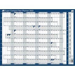 Sasco 2022 Unmounted Super Compact Year Planner 400 x 285mm